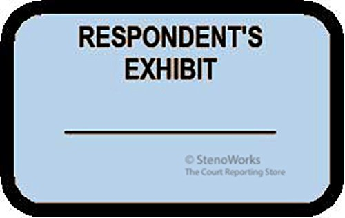 RESPONDENT'S EXHIBIT Labels Stickers Light Blue 492 per - Priority Shipping International Tracking