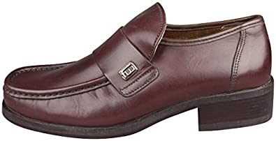 db91a7b4e79 Image Unavailable. Image not available for. Colour  Frank Wright Parker  Loafers 20043 Brown Matt Mens Leather ...