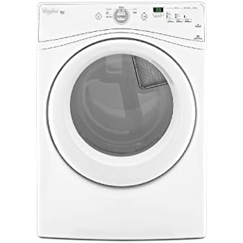 Whirlpool WGD70HEBW Duet 7.4 Cu. Ft. White Stackable Gas Front Load Dryer