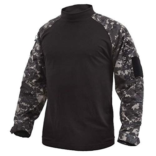 BlackC Sport Tactical Airsoft Combat Long Sleeve Lightweight Shirt