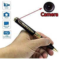 CAM 360 HD Pen Camera with Video and Audio Hidden Recording, HD Sound Clarity and Memory Card Inserting Facility
