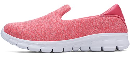 Pink Sneaker Shoe PPXID Loafer Casual Slip On Mesh Running Womens Breathable rwxfr0qvz