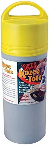 Counter Assault Kozee-Tote Container, 8.7-Ounce