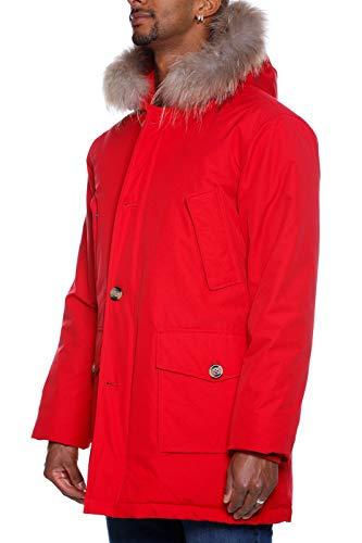 A18 Rosso Art Cor Brre Uomo Manitoba Man Giubbotto Piumino Cordura Canadian Inverno Gcm01 Autunno xgq0wTnRO