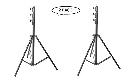 Impact Heavy Duty Light Stand, Black - 13' (4m) 2 pack by Impact