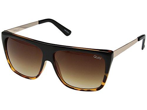 Quay Australia OTL II Women's Sunglasses Oversized Square Sunnies - Tort/Brown ()