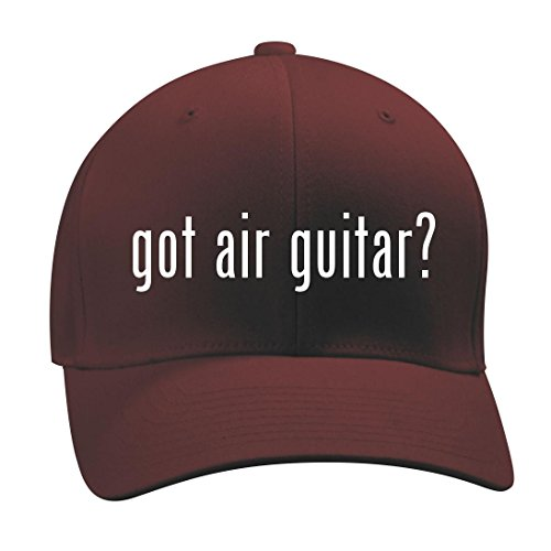 Shirt Maroon Axl (got air guitar? - A Nice Men's Adult Baseball Hat Cap, Maroon, Small/Medium)