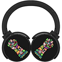 6Dian Avengers Infinity War Pop Art Headphones Over-ear Stereo Fold Wireless Bluetooth Earphone Black