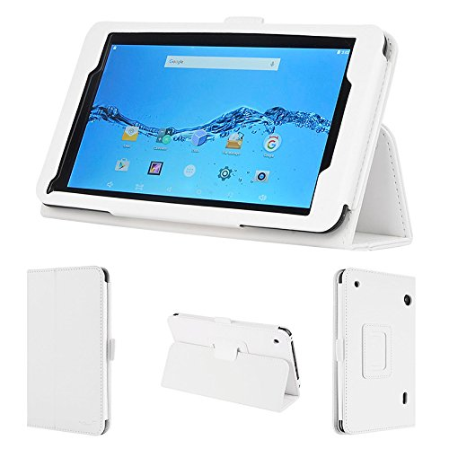 wisers DigiLand DL718M, DL721-RB 7-inch Tablet case/Cover, White ()