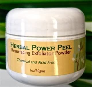 Herbal Power Peel- Chemical & Acid Free Green Herbal Deep Sea Peel-Professional or Home Use