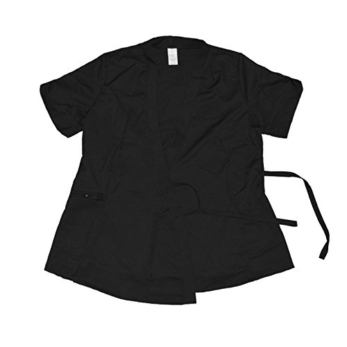 Betty Dain Signature Vita Salon Stylist Jacket, Black, L Betty Dain Estheticians Jacket