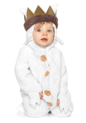 Leg Avenue Baby's Where The Wild Things Are Max Costume, Cream, 12-18 (Iconic Movie Characters For Halloween)