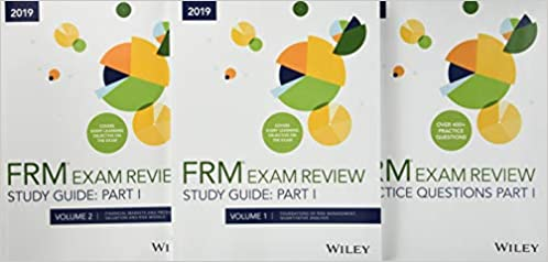 Buy Wiley 2019 Part I FRM Exam Study Guide & Practice