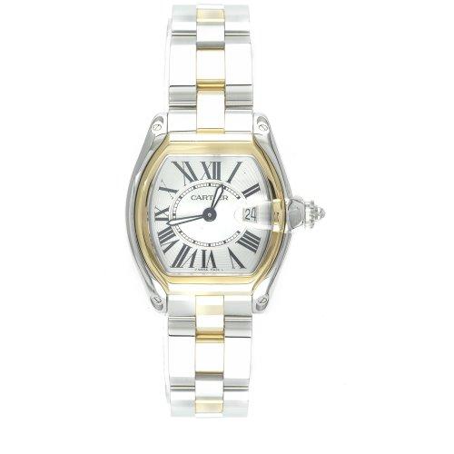 Cartier Roadster Reloj de Mujer Cuarzo Suizo Correa de Acero W62026Y4: Amazon.es: Relojes