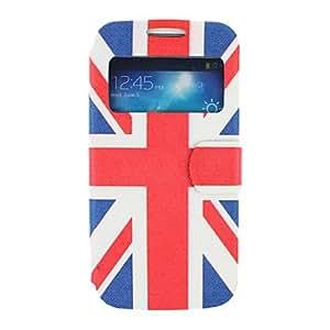 WQQ Patrón de la bandera nacional de la PU Leather Case cuerpo completo para Samsung I9190 S4 Mini