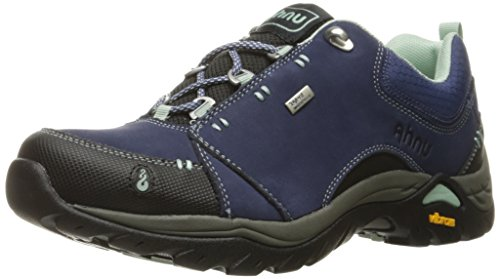 Ahnu Women's Montara II Waterproof Hiking Shoe, Midnight Blue, 8 M US
