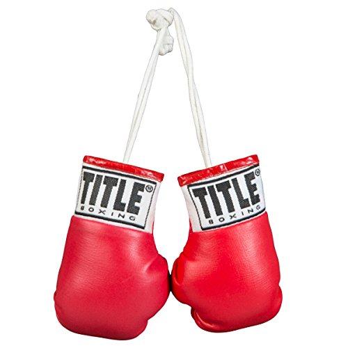 TITLE Boxing Mini Boxing Glove, - Boxing Gloves Red Mini