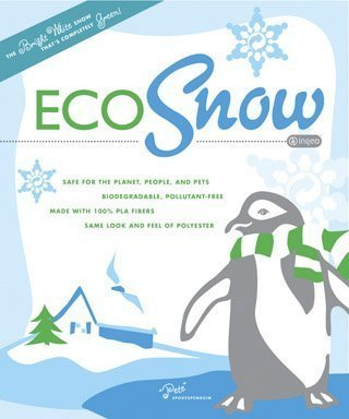 BUFFALO BATT & FELT CB2645 Eco Fluff Snow for Decoration, 10-Ounce