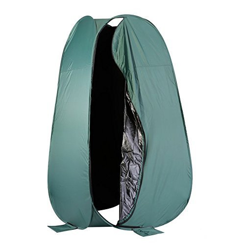 Neewer 6 Feet/183 cm Portable Indoor Outdoor Photo Studio Pop Up Changing Dressing Fitting Tent Room with Carrying Case(Green) by Neewer