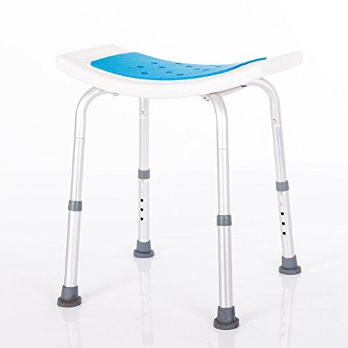 Ke's Haus Medical Tool-Free Spa Bathtub Adjustable Shower Chair Seat Bench by Ke's Haus (Image #1)