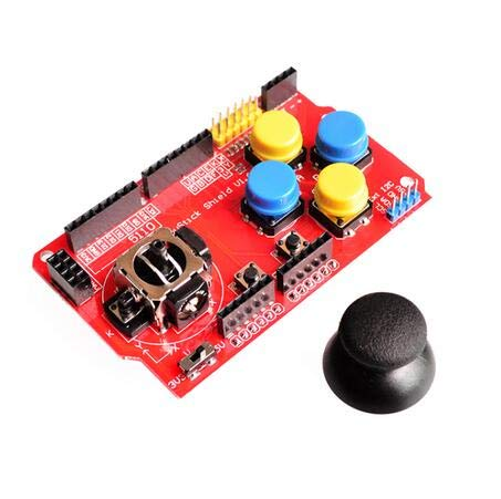 10pcs//lot Gamepads Joystick Keypad Shield PS2 for nRF24L01 Nk 5110 LCD I2C