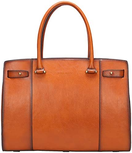 Banuce Vintage Briefcase Business Capacity