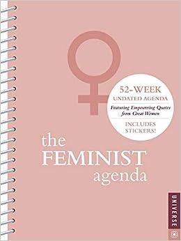 The Feminist Agenda Undated Calendar: Amazon.es: Universe ...