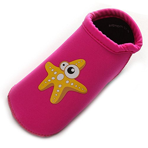 Z-T Unisex Waterproof Baby Swim Shoes Water Shoes Beach Shoes for Baby 0-5 Years