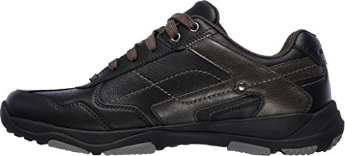 Skechers USA Larson-Havon Mens Oxford Black