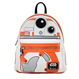 Loungefly x Star Wars BB-8 Applique Mini-Backpack (One Size, Multi)