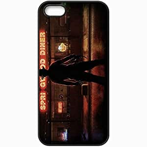 Personalized iPhone 5 5S Cell phone Case/Cover Skin A Nightmare On Elm Street Black
