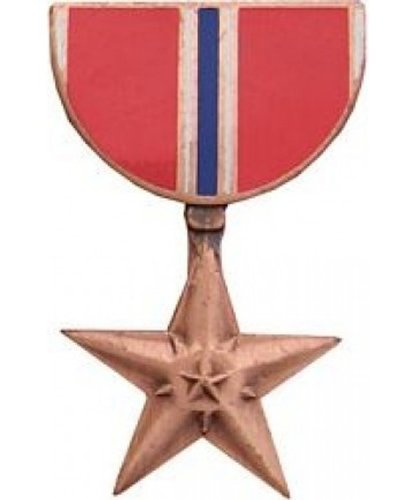 Bronze Star Medal Lapel or Hat Pin