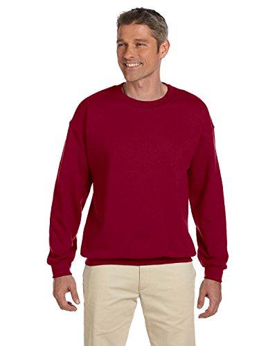 Gildan G18000 Heavy Blend Adult Crewneck Sweatshirt,Cardinal - Sweatshirt Adult Cardinal