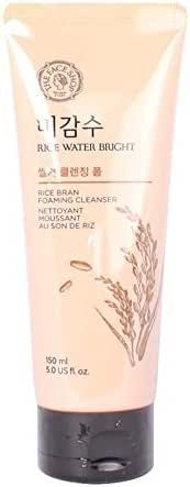 [The Face Shop] Rice Water Bright Rice Bran Cleansing Foam (2016)