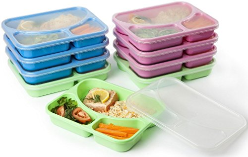 COLOURED Reusable Easy Containers Recommended HEALTHIER