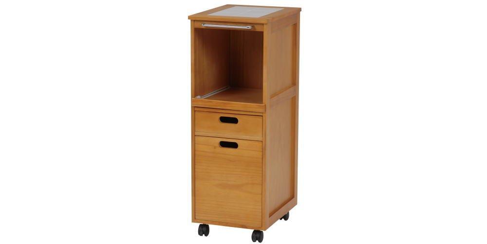 キッチンラック キャスター付き コンパクト収納 SIsimw060700090NAis B014Y5CVY4