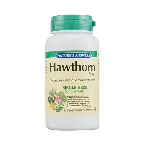 NATURE'S ANSWER HAWTHORN BERRY 1,500MG 90 CAP