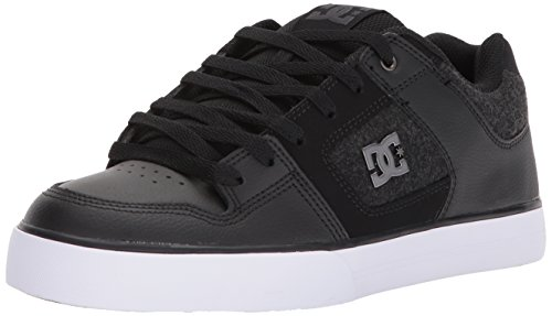 DC Men's Pure SE Skate Shoe, White, 9 D D US