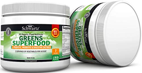 Greens Superfood with Prebiotic, Probiotic and Digestive Enzymes – Sample