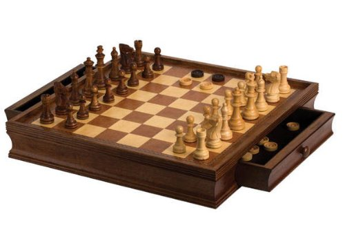 "CHH 19"" Camphor Chess/Checker Set from CHH"