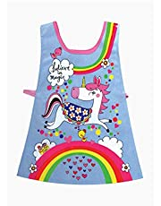 Rachel Ellen RETAB1 Children's Tabard, Unicorns and Rainbows