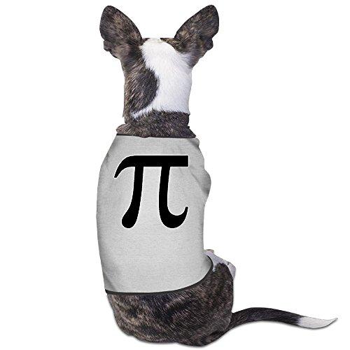 YRROWN Pi Symbol Printing Puppy Dog Clothes