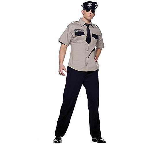 Arresting Officer Costume - X-Large - Chest Size 53