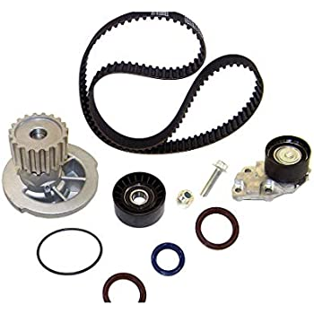 DNJ TBK325WP Timing Belt Kit with Water Pump for 2004-2008 / Chevrolet/Aveo, Aveo5 / 1.6L / DOHC / L4 / 16V / 98cid