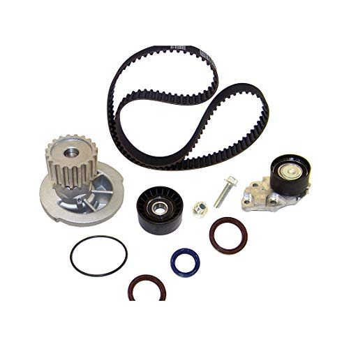 (DNJ TBK325WP Timing Belt Kit with Water Pump for 2004-2008 / Chevrolet/Aveo, Aveo5 / 1.6L / DOHC / L4 / 16V / 98cid )