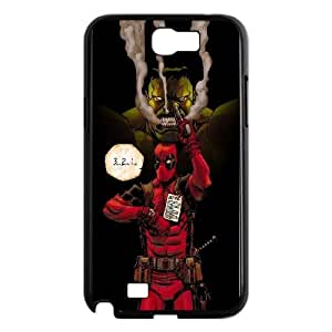 Samsung Galaxy N2 7100 Cell Phone Case Black Hulk And Deadpool Rpmcw