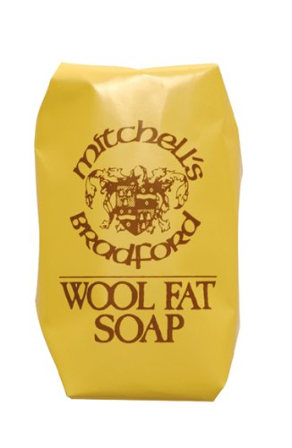 (Mitchell's Wool Fat Soap, Large 150g (5.5oz Approx), Pack of 3)