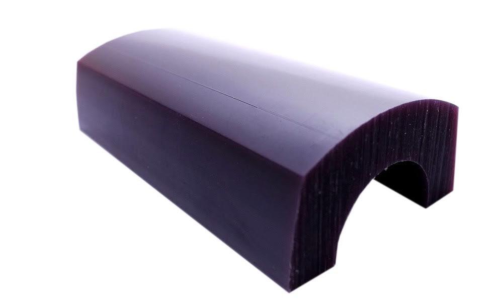 Matt Carving Wax CA-2898 Bracelet Wax Blanks Color Purple Size 6 Long Paaz Jewelry Supply