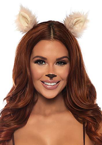 Animal Ear Headbands (Leg Avenue Women's Costume, Pink, One)
