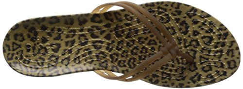Crocs Womens Isabella Graphique W Flip Flop Léopard